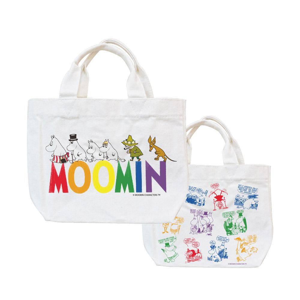 YOSHI850|Moomin嚕嚕米正版授權:小托特包【Happy Family】