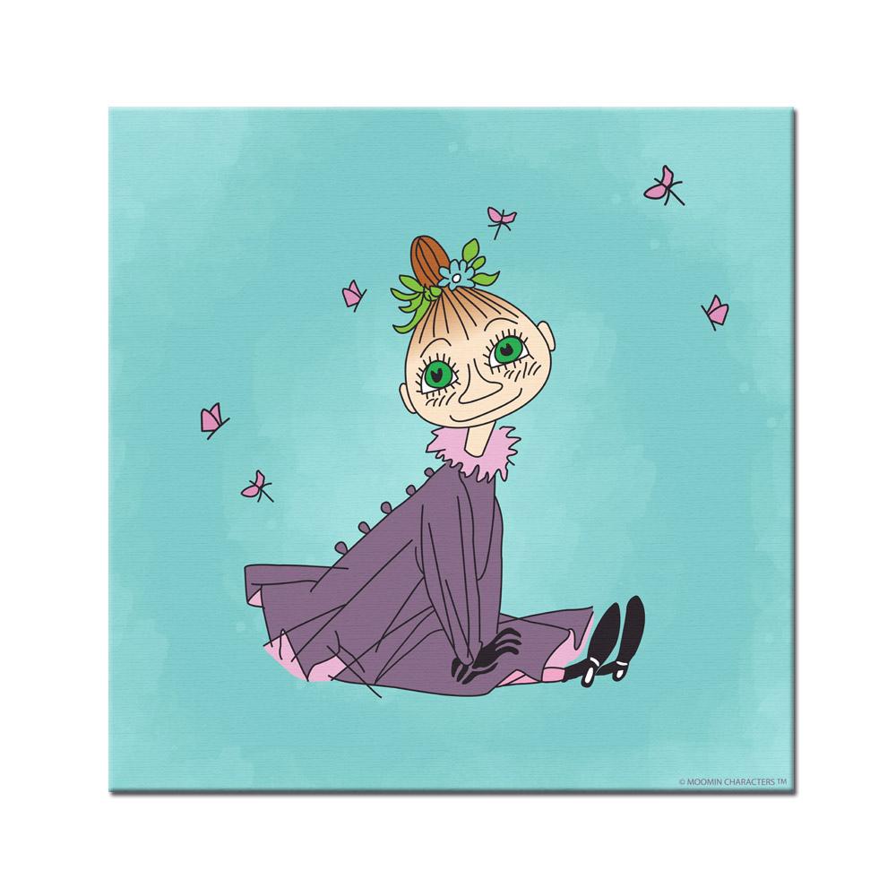 YOSHI850|Moomin嚕嚕米:無框畫【Moomin嚕嚕米家族兒】80×80cm
