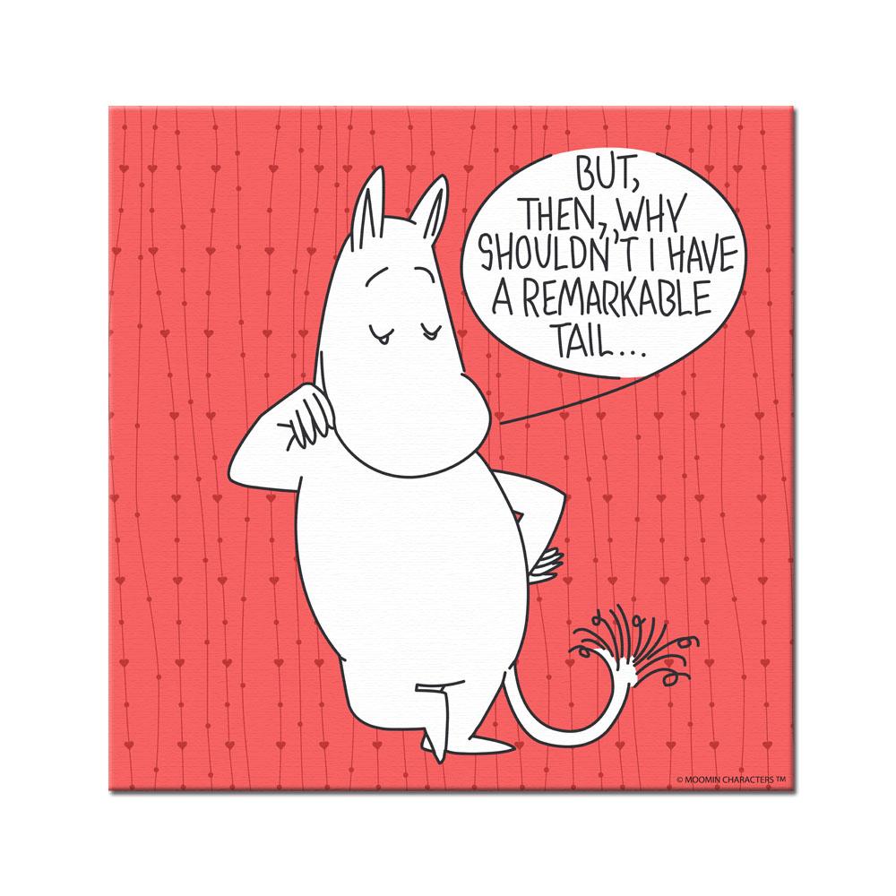 YOSHI850|Moomin嚕嚕米:無框畫【Moomin嚕嚕米】80×80cm