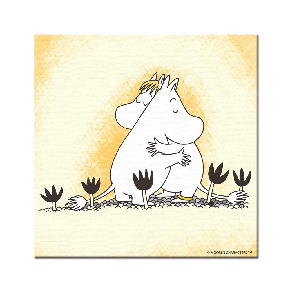 YOSHI850|Moomin嚕嚕米:無框畫【Moomin嚕嚕米,可兒】80×80cm