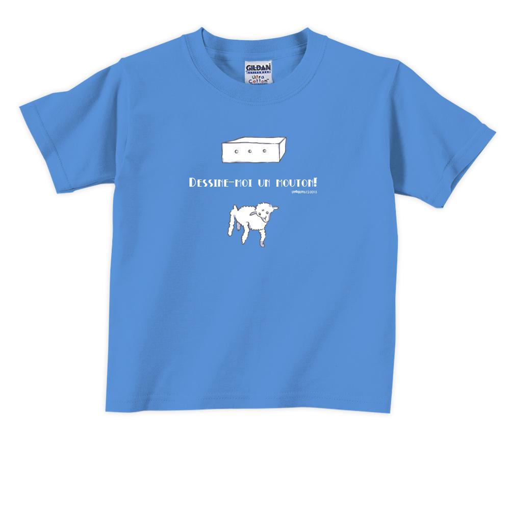 YOSHI850|小王子經典版授權【幫我畫隻羊】短袖兒童T-shirt 《6色》