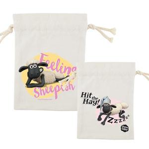 YOSHI850|笑笑羊正版授權Shaun The Sheep:束口袋(小14×16cm)【8款】