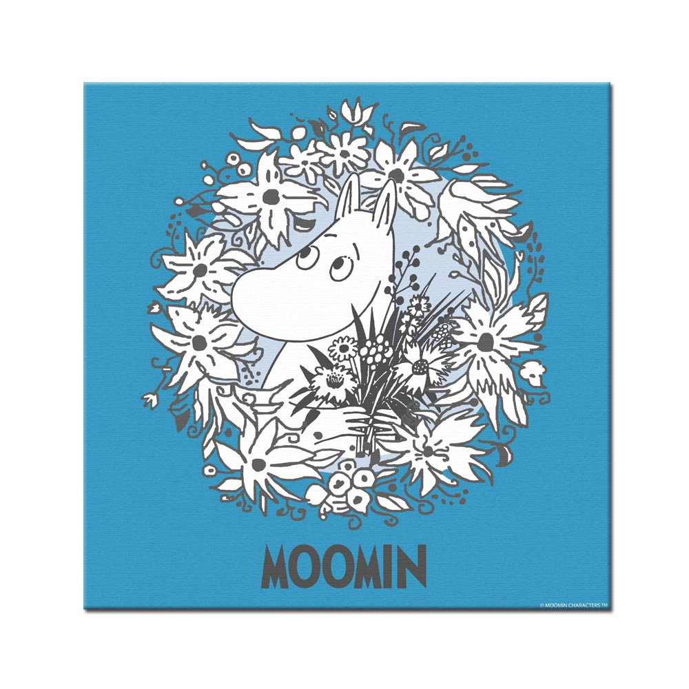 YOSHI850|Moomin嚕嚕米:無框畫【Moomin嚕嚕米】60×60cm/50×70cm