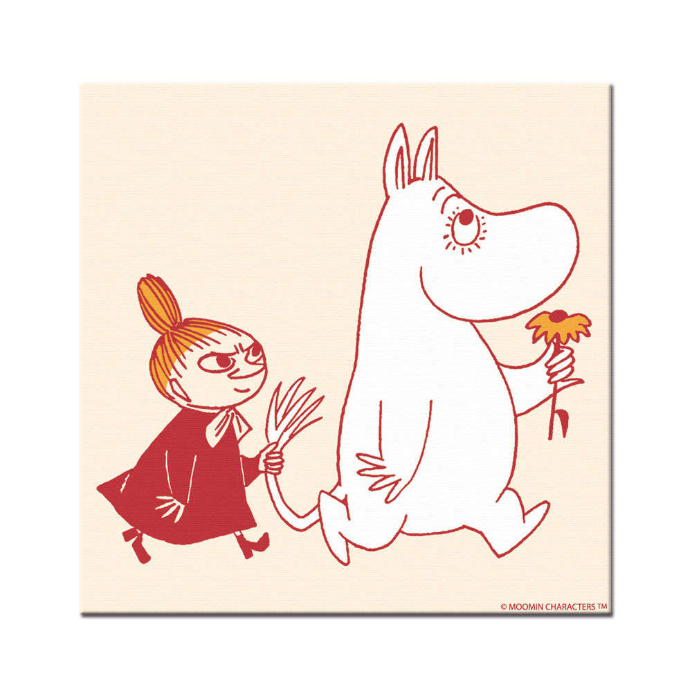 YOSHI850|Moomin嚕嚕米:無框畫【Moomin嚕嚕米家族】30×30cm
