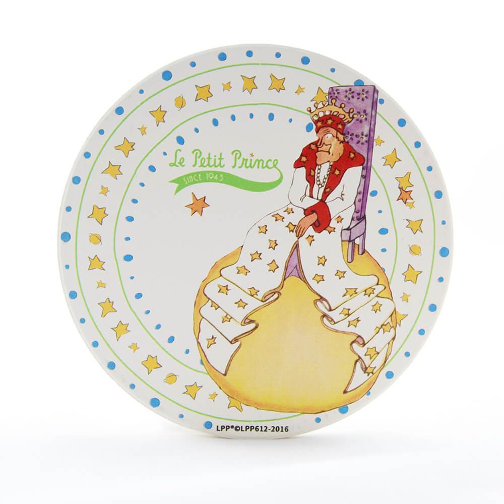 YOSHI850|經典小王子正版授權:吸水杯墊【孤獨的國王】(方.圓)