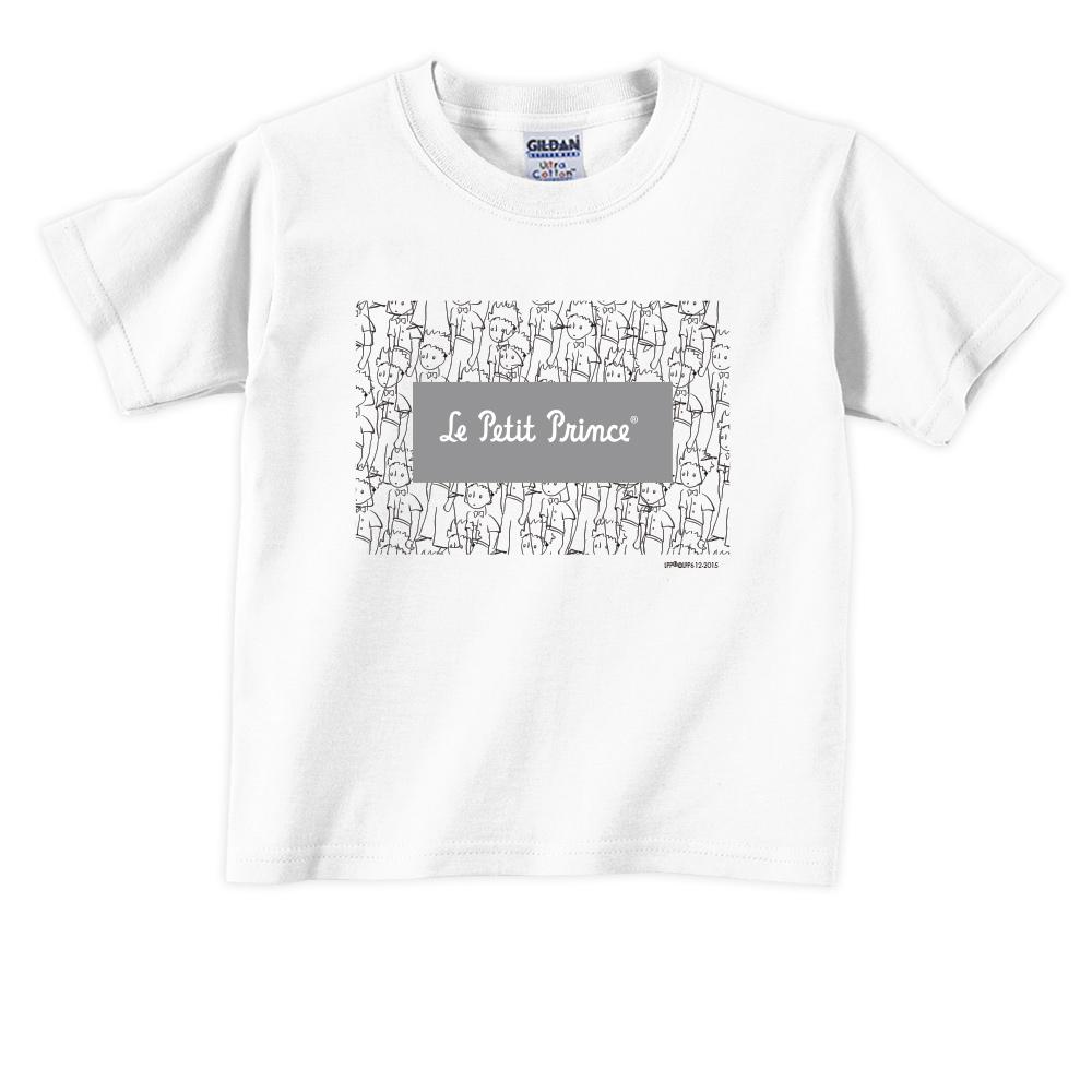 YOSHI850|小王子經典版授權【傻傻的小王子】短袖兒童T-shirt《白色》