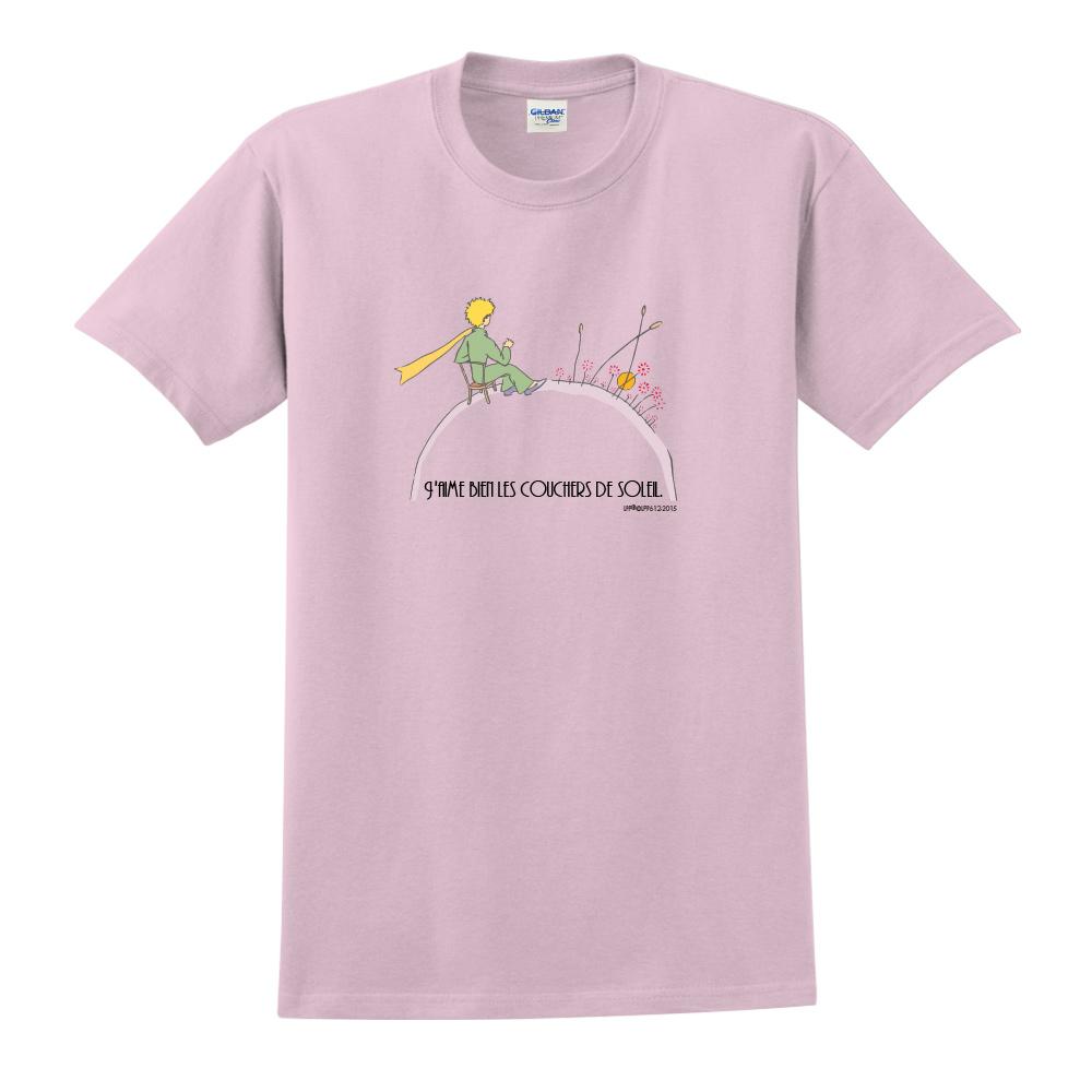 YOSHI850 小王子經典版授權【夕陽】短袖修身T-shirt《3色》