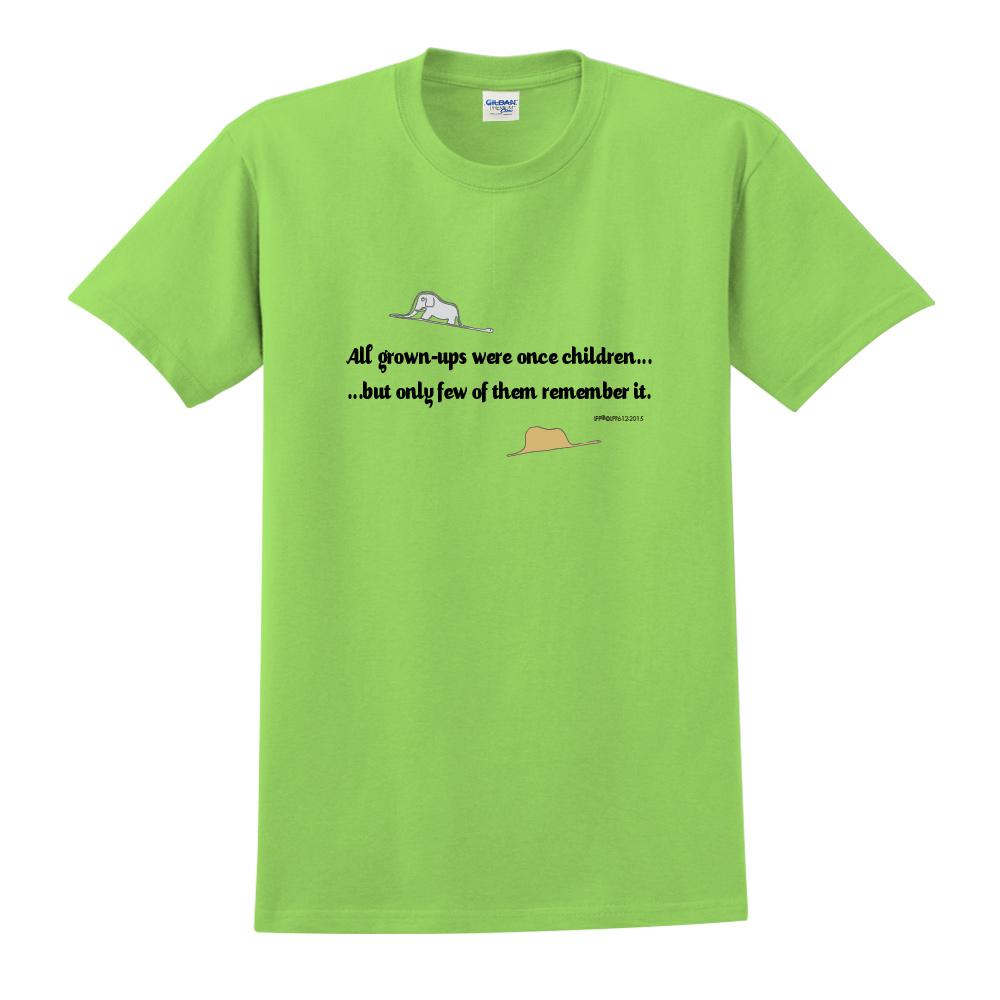 YOSHI850|小王子經典版授權【純真】短袖中性T-shirt (果綠)