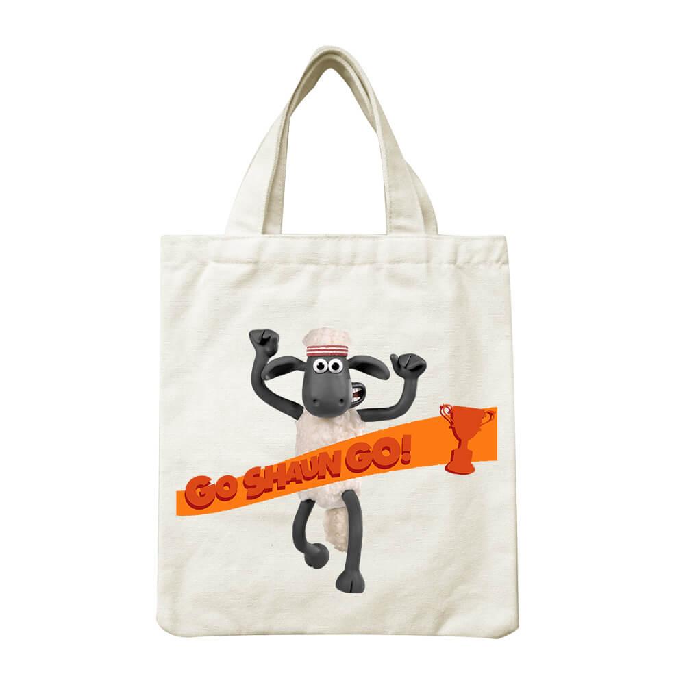 YOSHI850|笑笑羊正版授權Shaun The Sheep:小帆布包【Go Shaun Go! 】