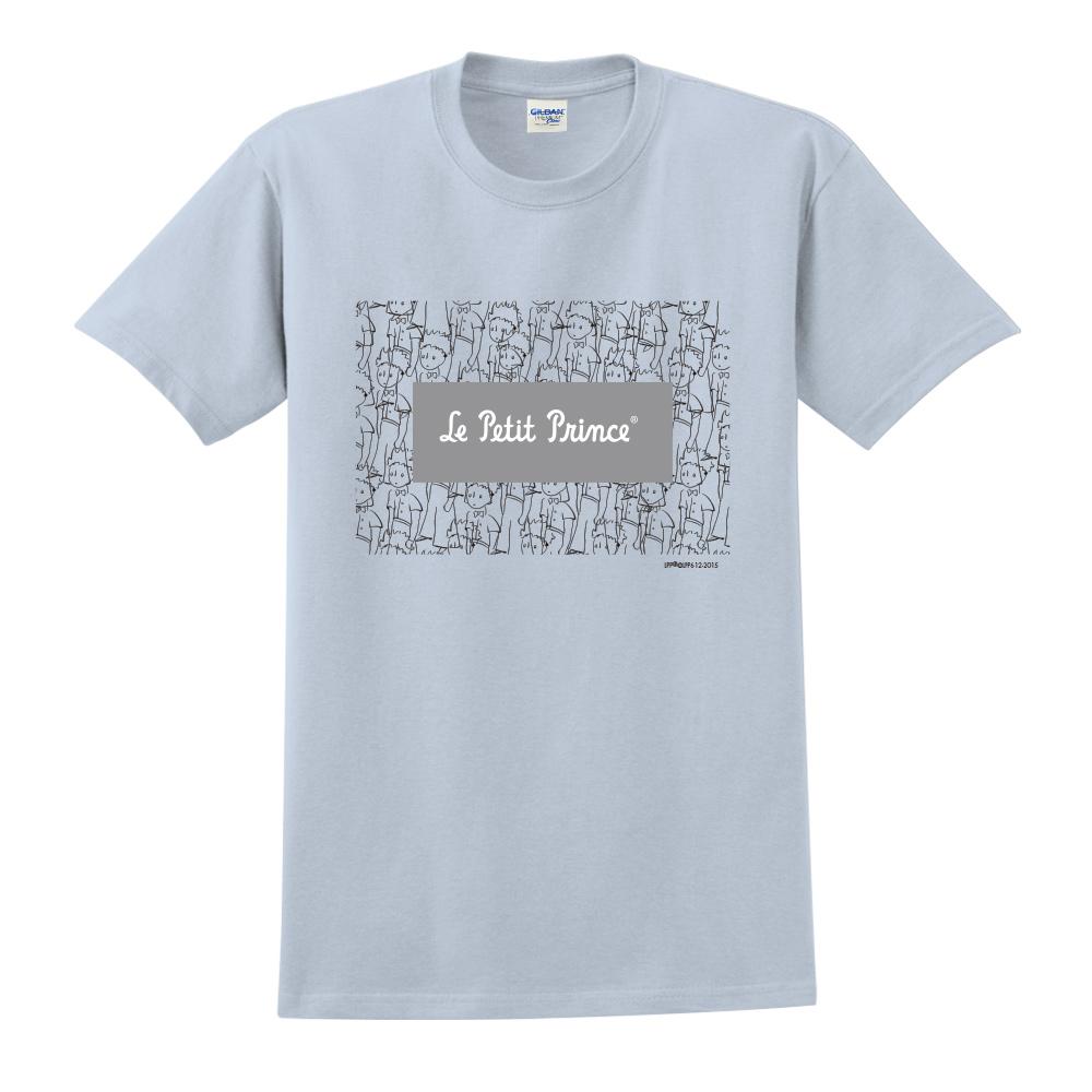 YOSHI850|小王子經典版授權【傻傻的小王子】短袖中性T-shirt (水藍)