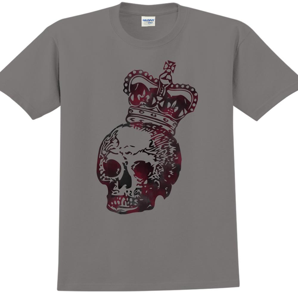 YOSHI850|新創設計師850 Collections【King】短袖成人T-shirt (深灰)