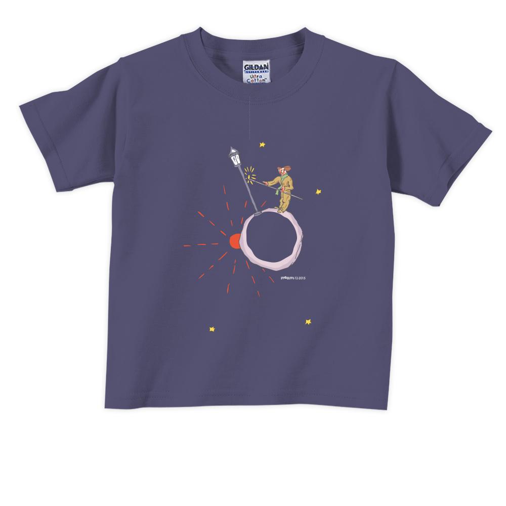 YOSHI850 小王子經典版授權【辛苦的燈夫】短袖兒童T-shirt 《6色》