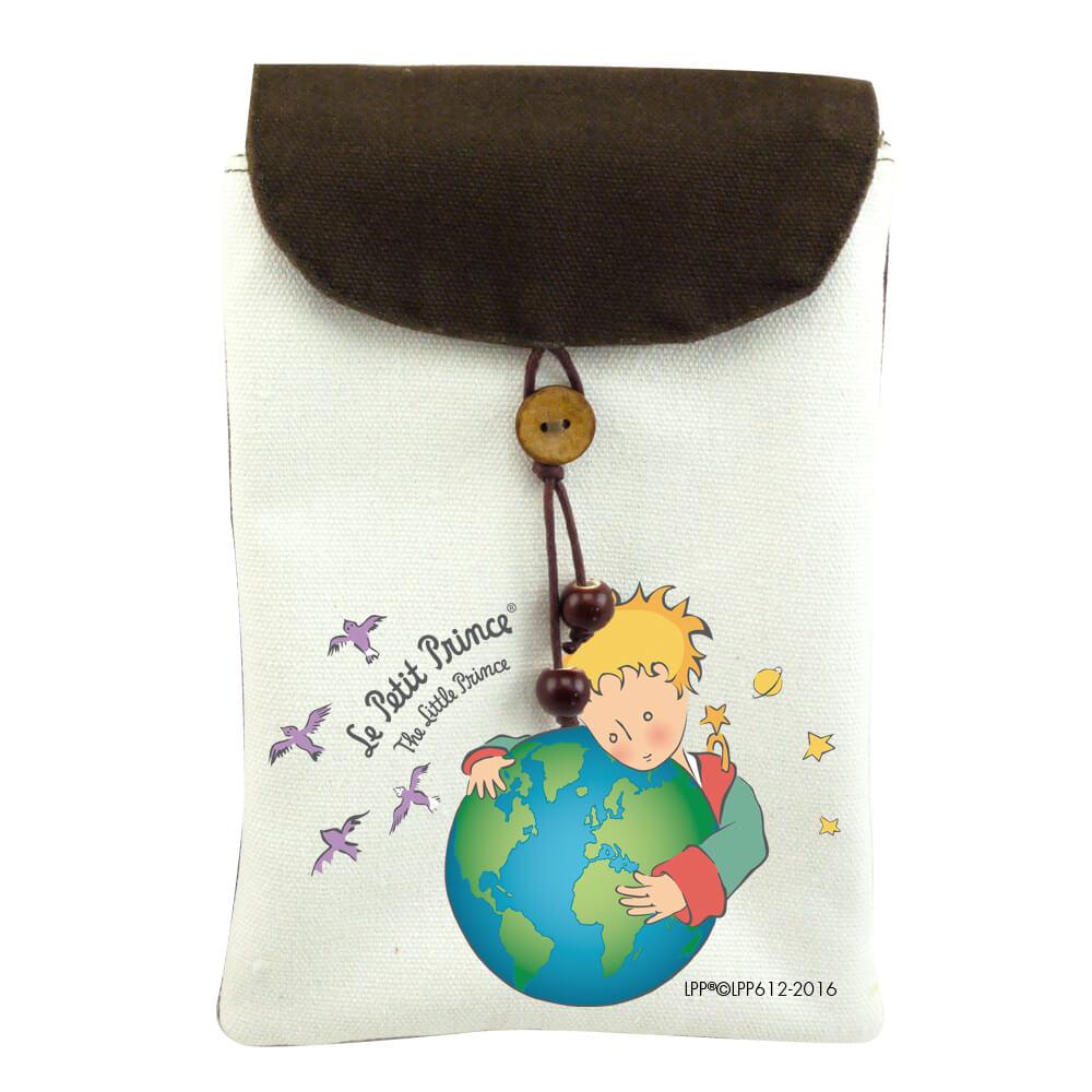 YOSHI850|小王子經典版授權:手機袋【第七個星球-地球】(肩背)