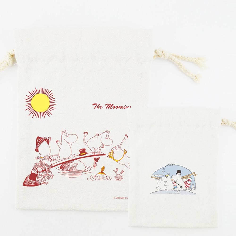YOSHI850|嚕嚕米正版授權:束口袋(中)【10款】