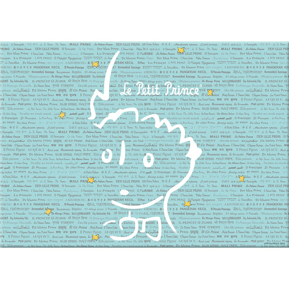 YOSHI850|小王子經典版授權:無框畫【奇怪的大人們】40×40cm/35×50cm