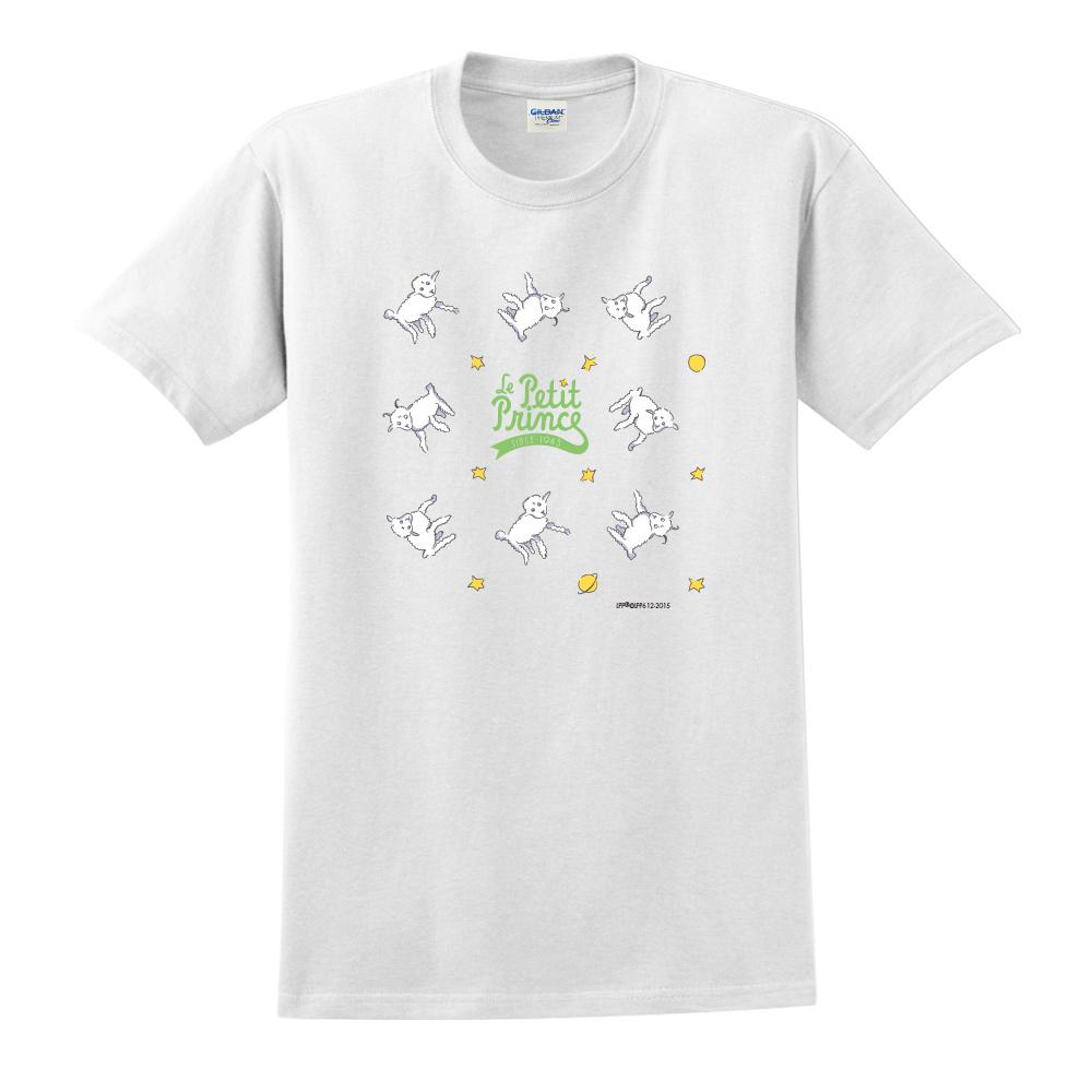 YOSHI850 小王子經典版授權【綿羊】短袖中性T-shirt (白)
