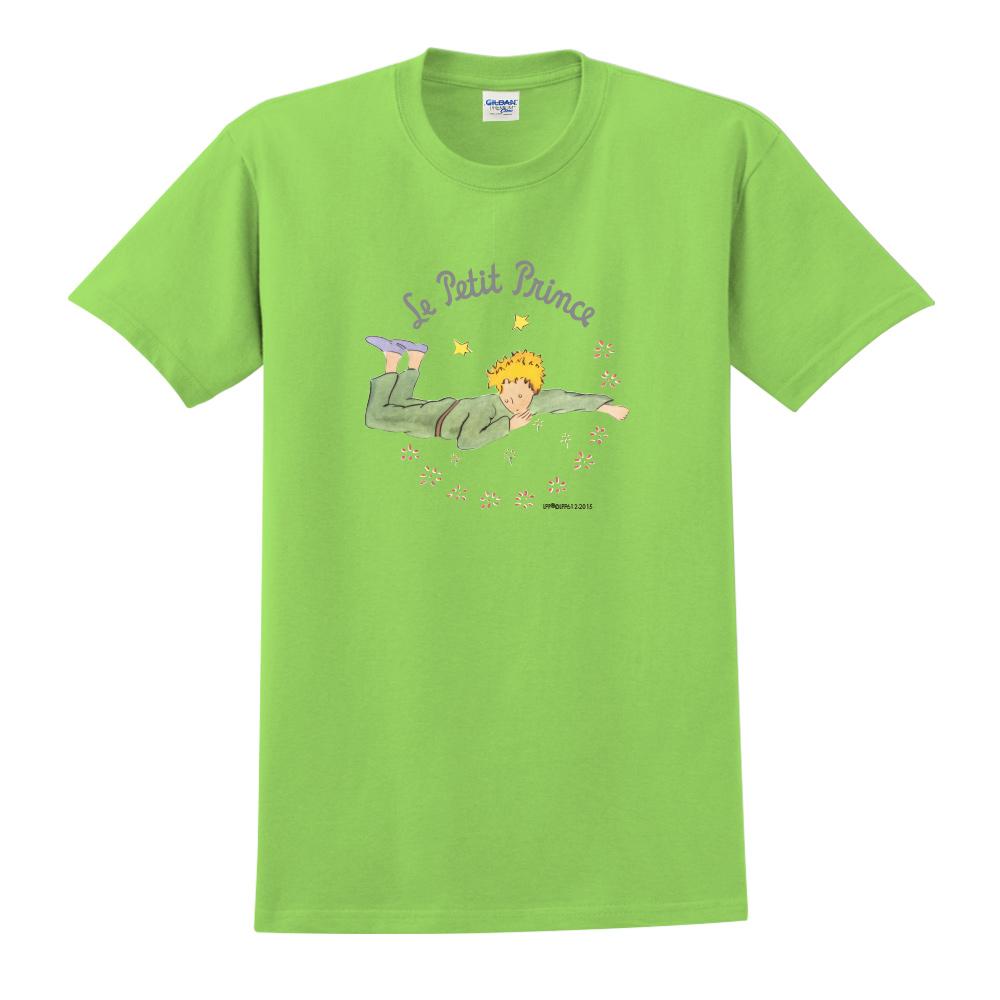 YOSHI850 小王子經典版授權【哭泣的小王子】短袖中性T-shirt (果綠)