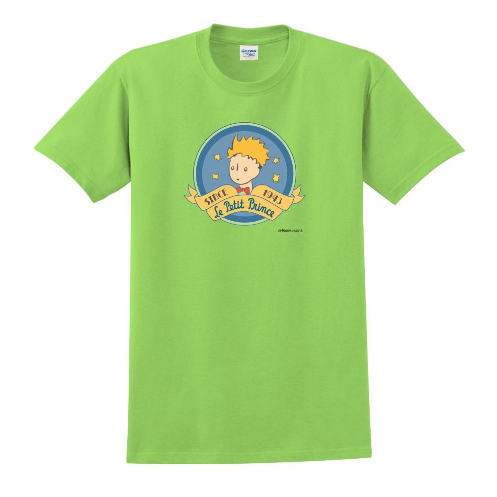 YOSHI850|小王子經典版授權【跟你說聲Hi】短袖中性T-shirt (果綠)