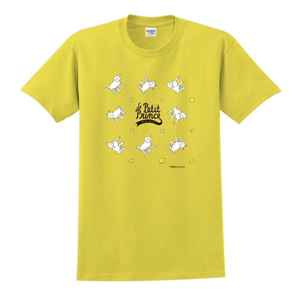 YOSHI850|小王子經典版授權【綿羊】短袖中性T-shirt (黃)