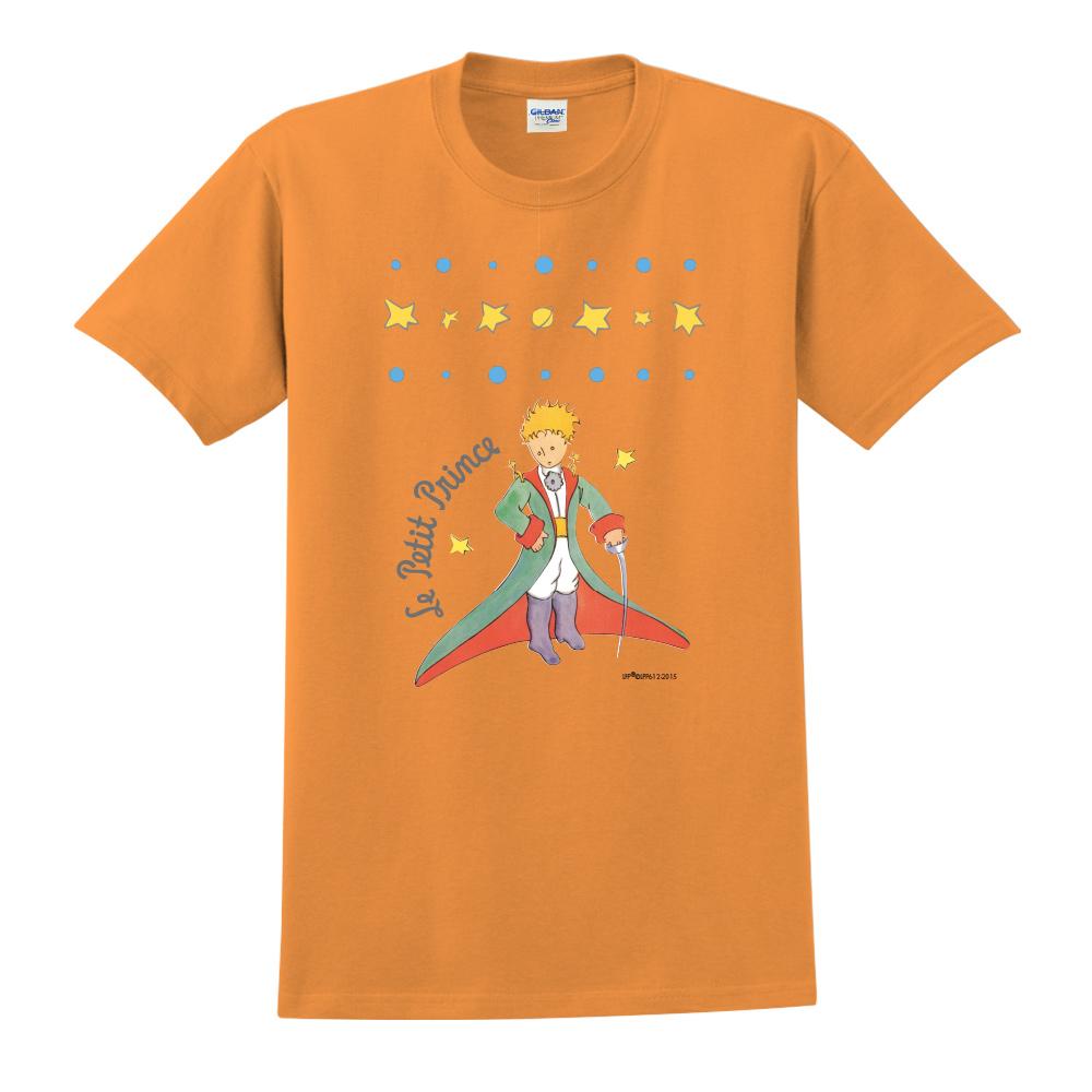 YOSHI850|小王子經典版授權【星星王子】短袖中性T-shirt (橘)