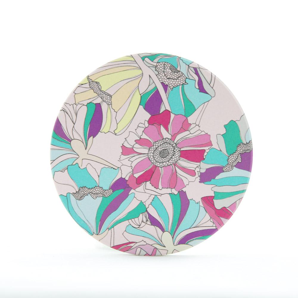 YOSHI850|新創設計師系列:吸水杯墊【一路盛開】850 Collections(方.圓)