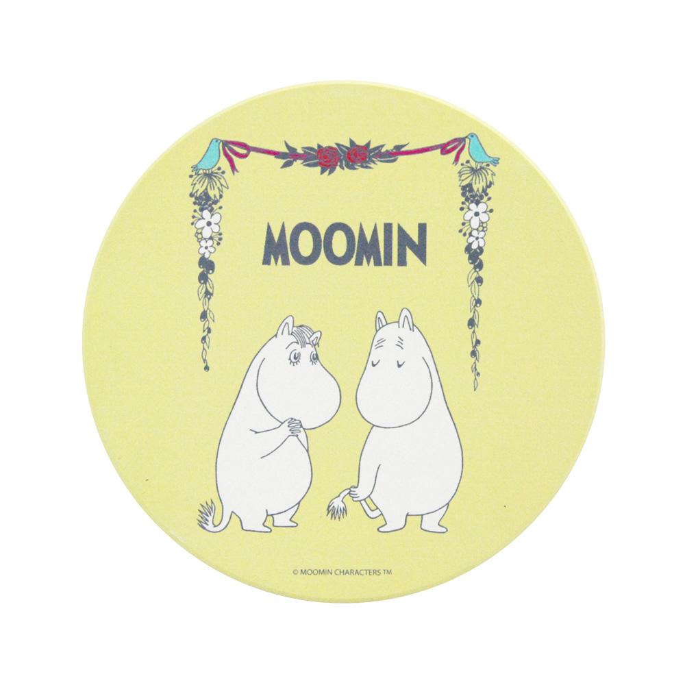 YOSHI850|Moomin嚕嚕米正版授權:吸水杯墊【愛慕】(方.圓)