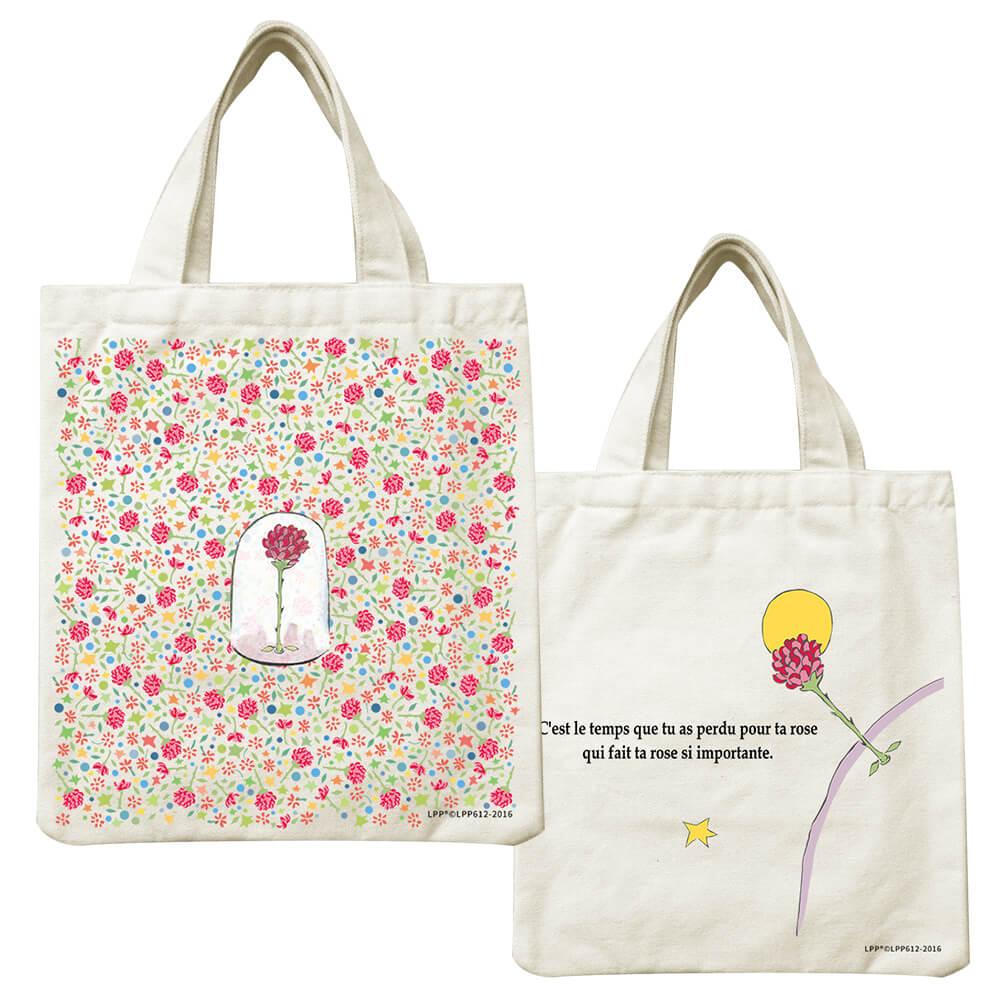 YOSHI850|小王子經典版授權系列:小帆布包【花花世界的呢喃】