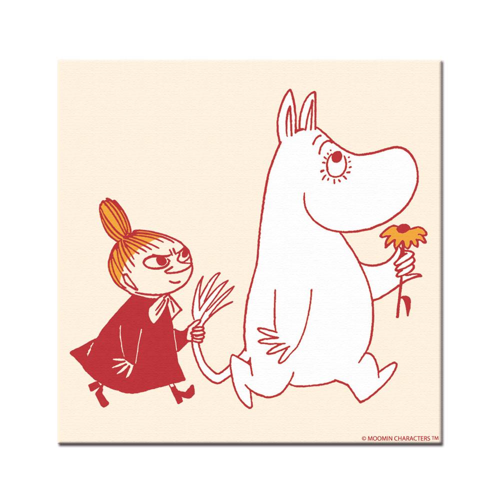 YOSHI850|Moomin嚕嚕米:無框畫【Moomin嚕嚕米家族】70×70cm