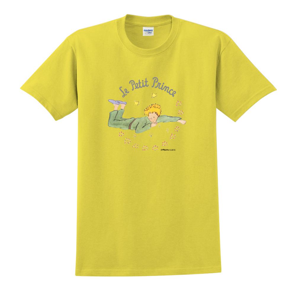 YOSHI850 小王子經典版授權【哭泣的小王子】短袖中性T-shirt (黃)