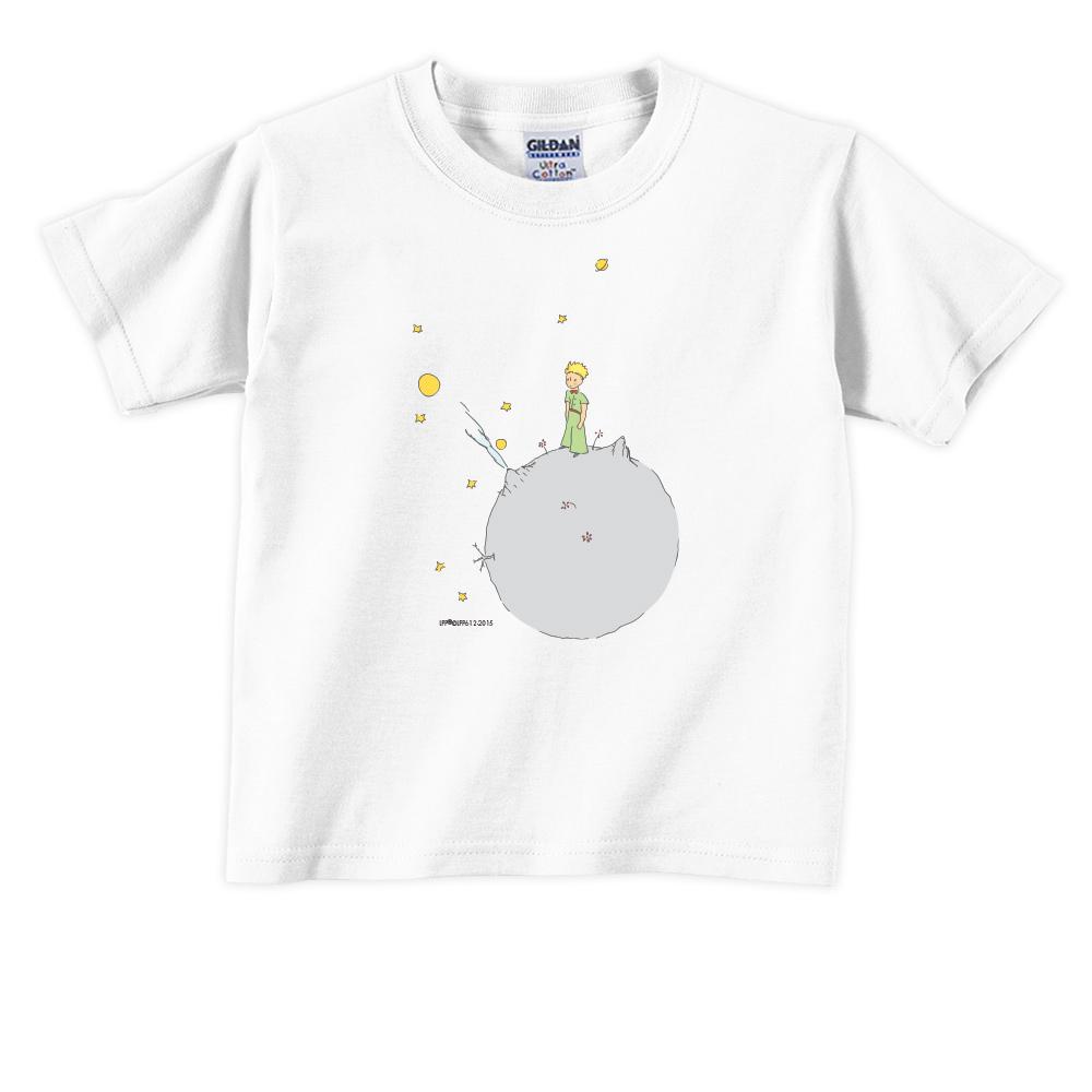 YOSHI850 小王子經典版授權【另一個星球】短袖兒童T-shirt《白色》