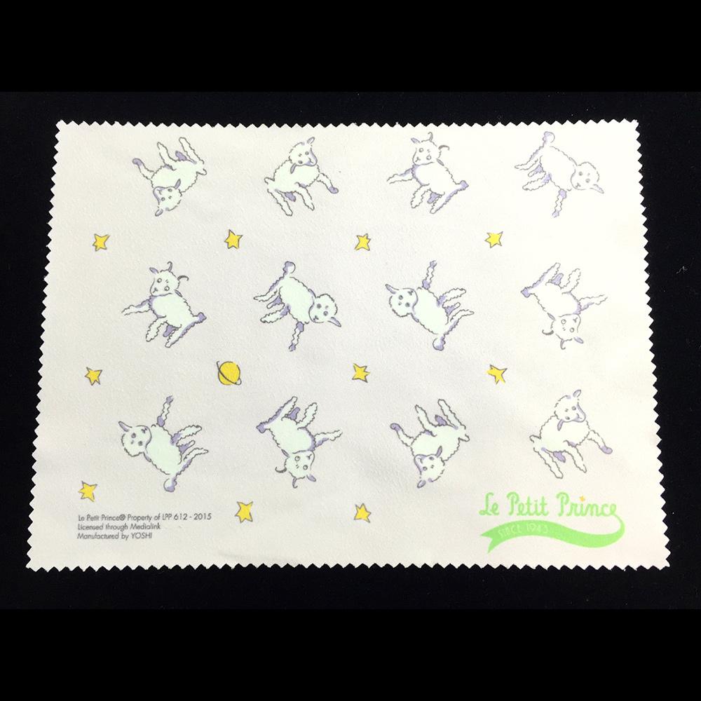 YOSHI850|小王子經典版授權系列:超細纖光學拭鏡布【綿羊】