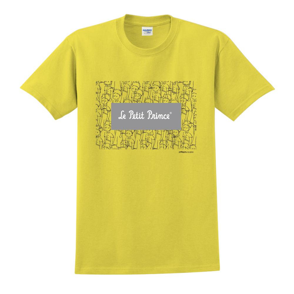 YOSHI850 小王子經典版授權【傻傻的小王子】短袖中性T-shirt (黃)