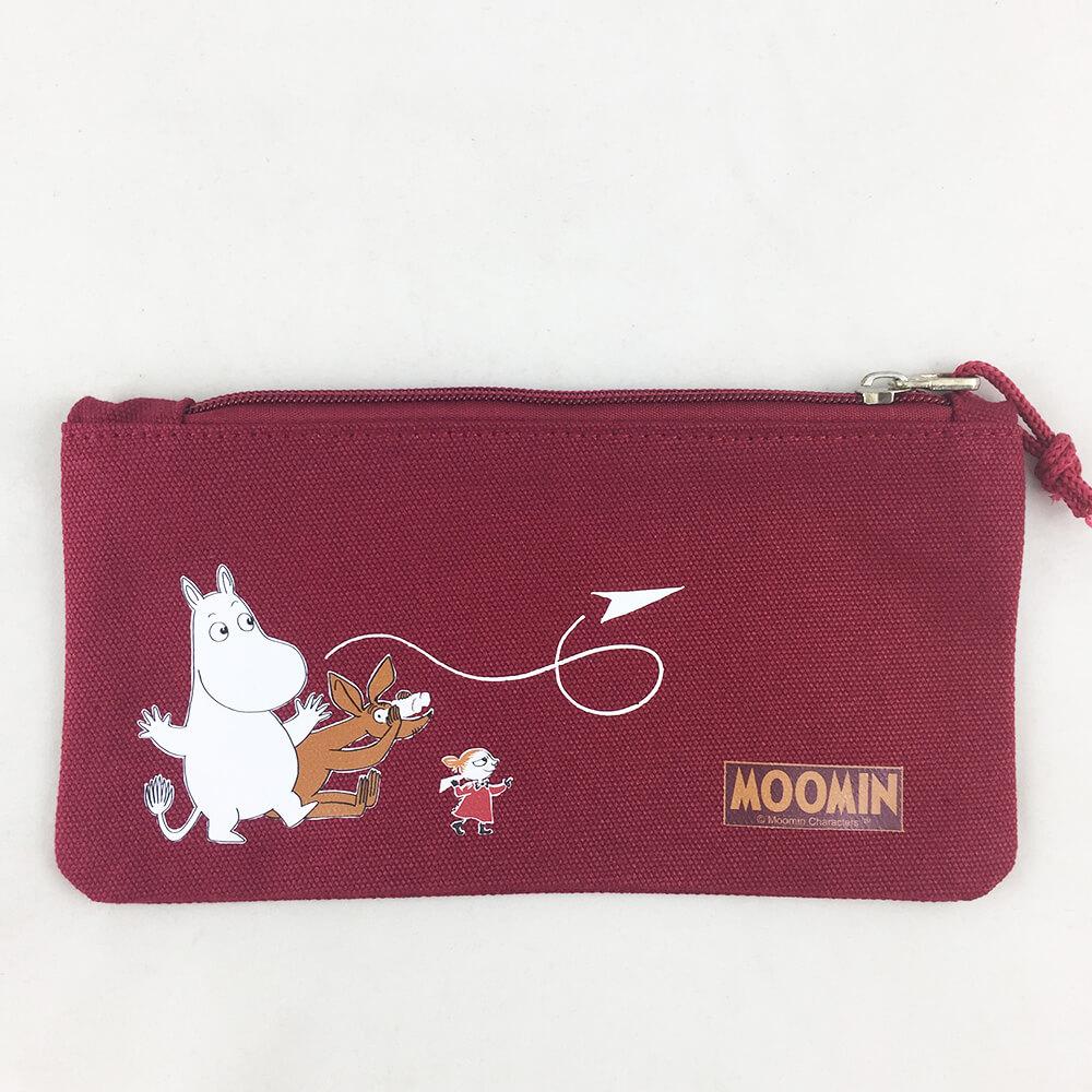 YOSHI850|嚕嚕米正版授權:筆袋【紅】