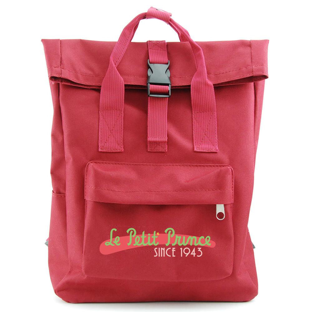 YOSHI850 小王子經典版授權:開扣後背包【紅】