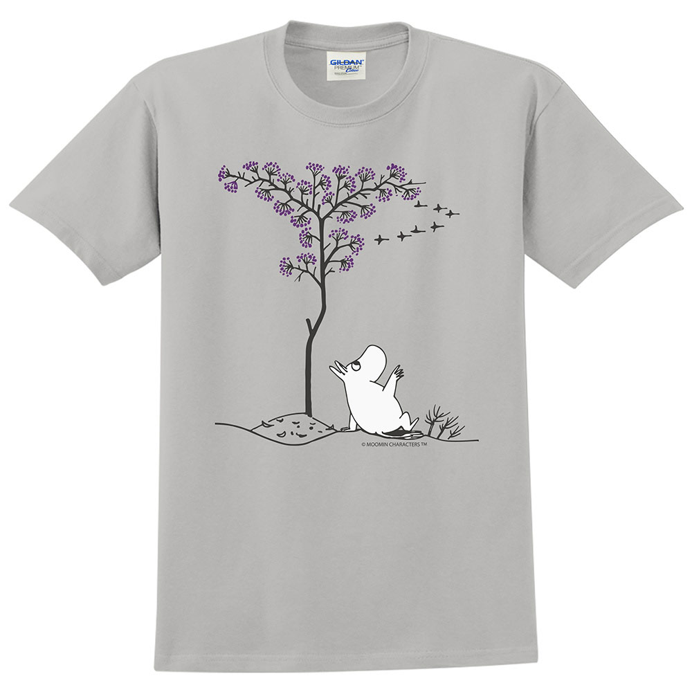 YOSHI850|Moomin嚕嚕米正版授權:T恤【悠閒】成人短袖 T-shirt