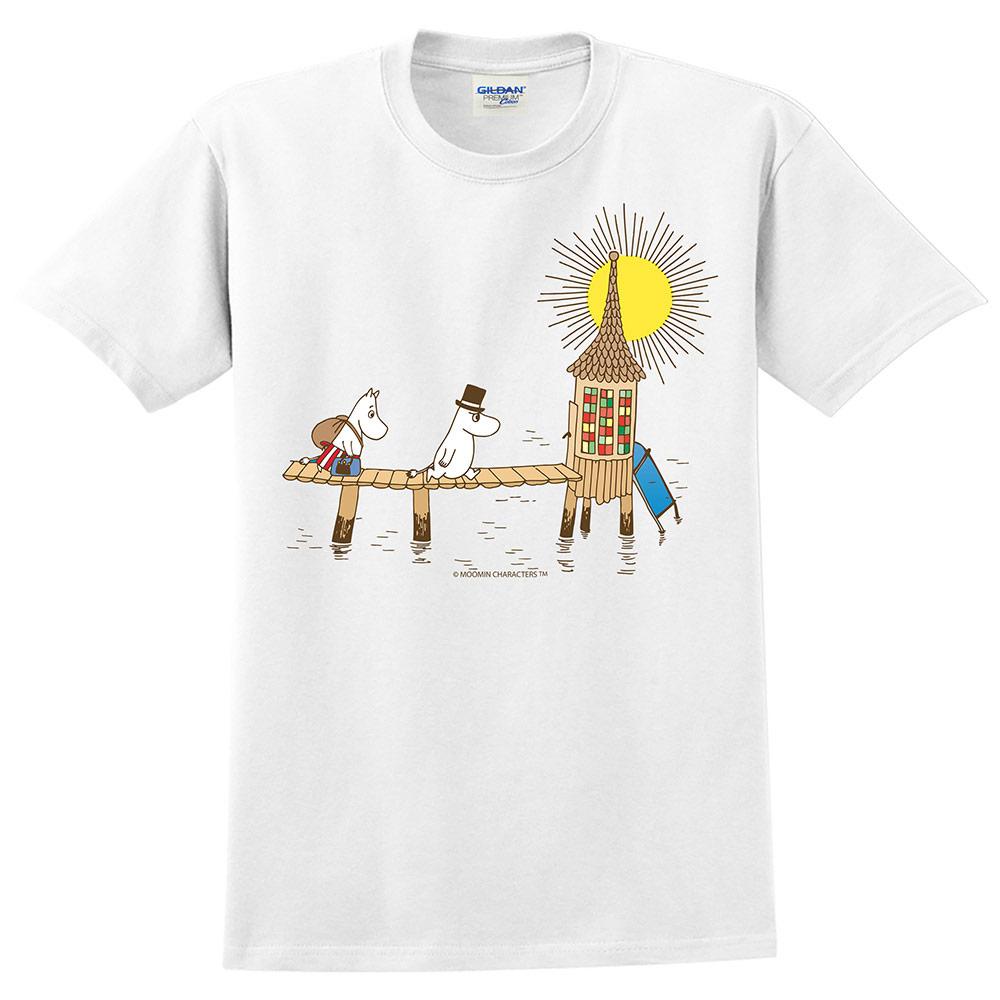 YOSHI850|Moomin嚕嚕米正版授權:T恤【黃昏】成人短袖 T-shirt