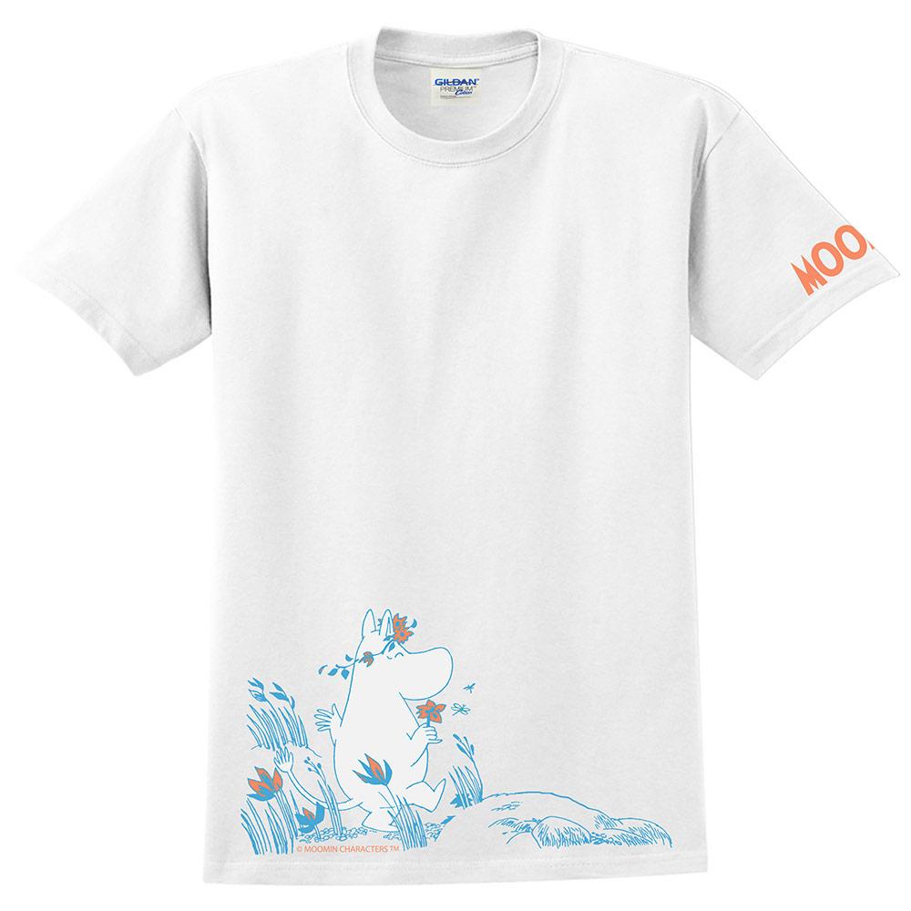YOSHI850 Moomin嚕嚕米正版授權:T恤【獻上我的愛】成人短袖 T-shirt