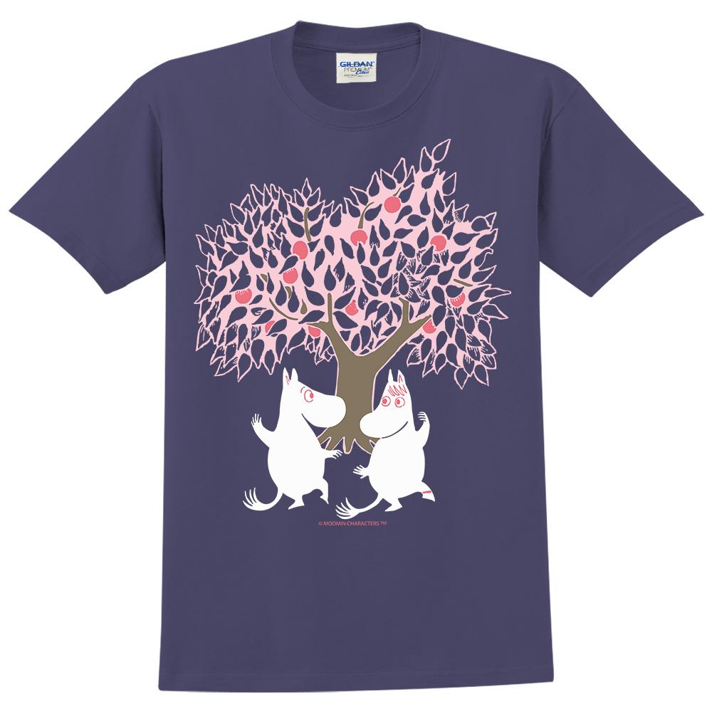 YOSHI850|Moomin嚕嚕米正版授權:T恤【樹下漫步】成人短袖 T-shirt