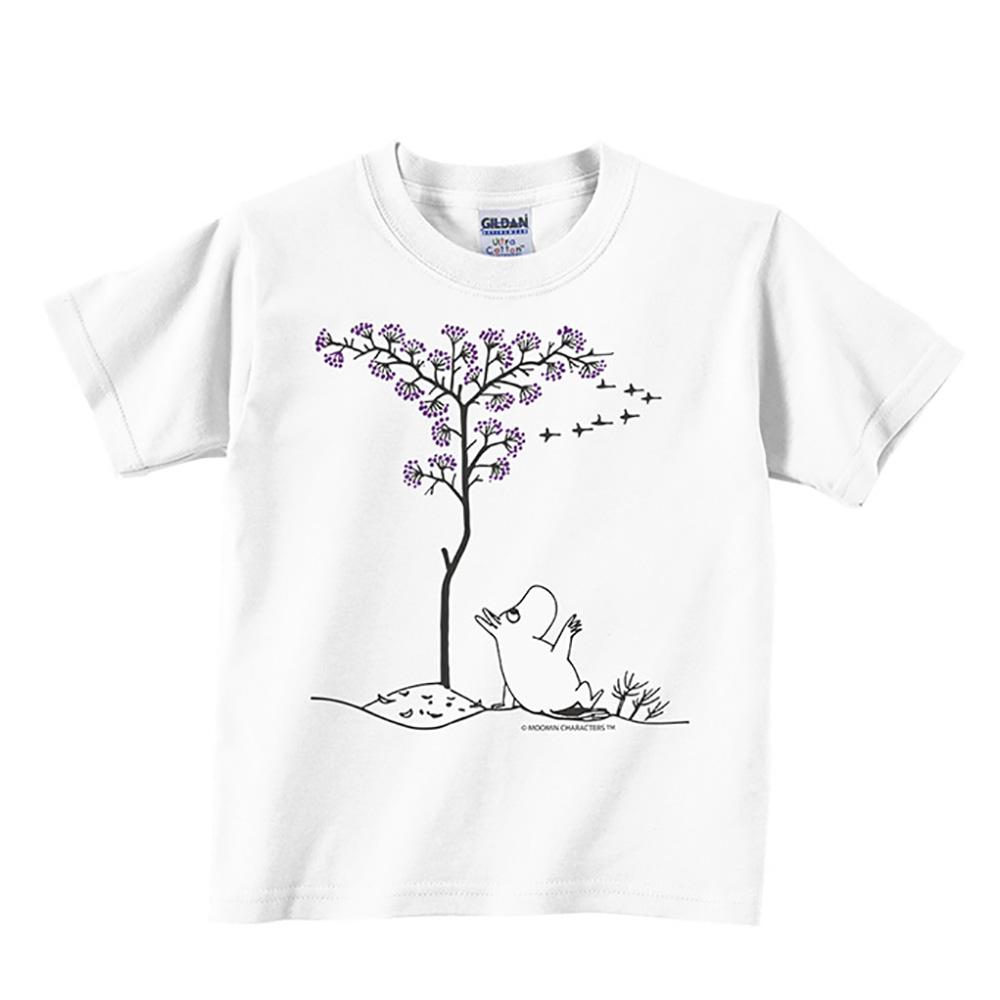 YOSHI850|Moomin嚕嚕米正版授權:T恤【悠閒】兒童短袖 T-shirt