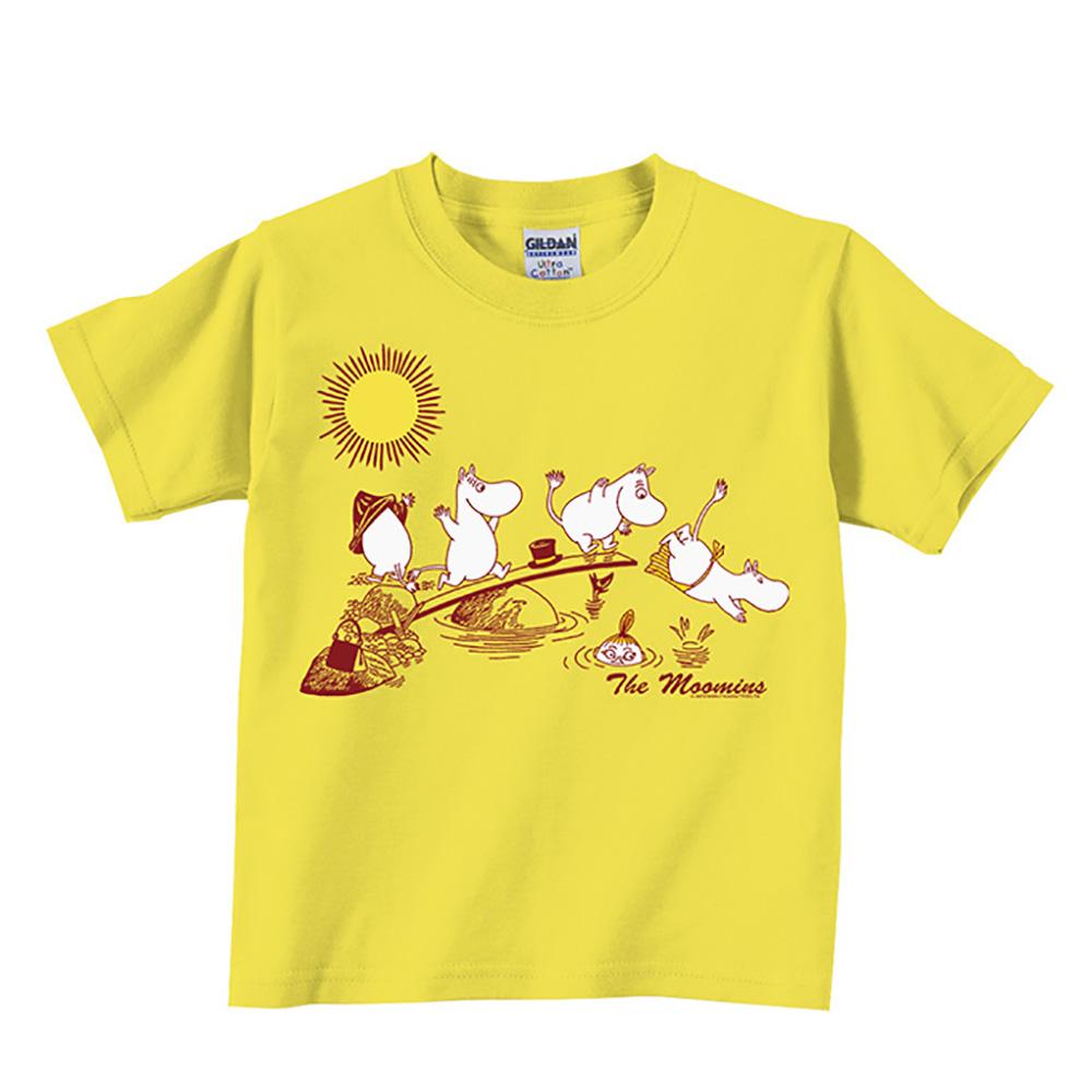 YOSHI850|Moomin嚕嚕米正版授權:T恤【The Moomins】兒童短袖 T-shirt
