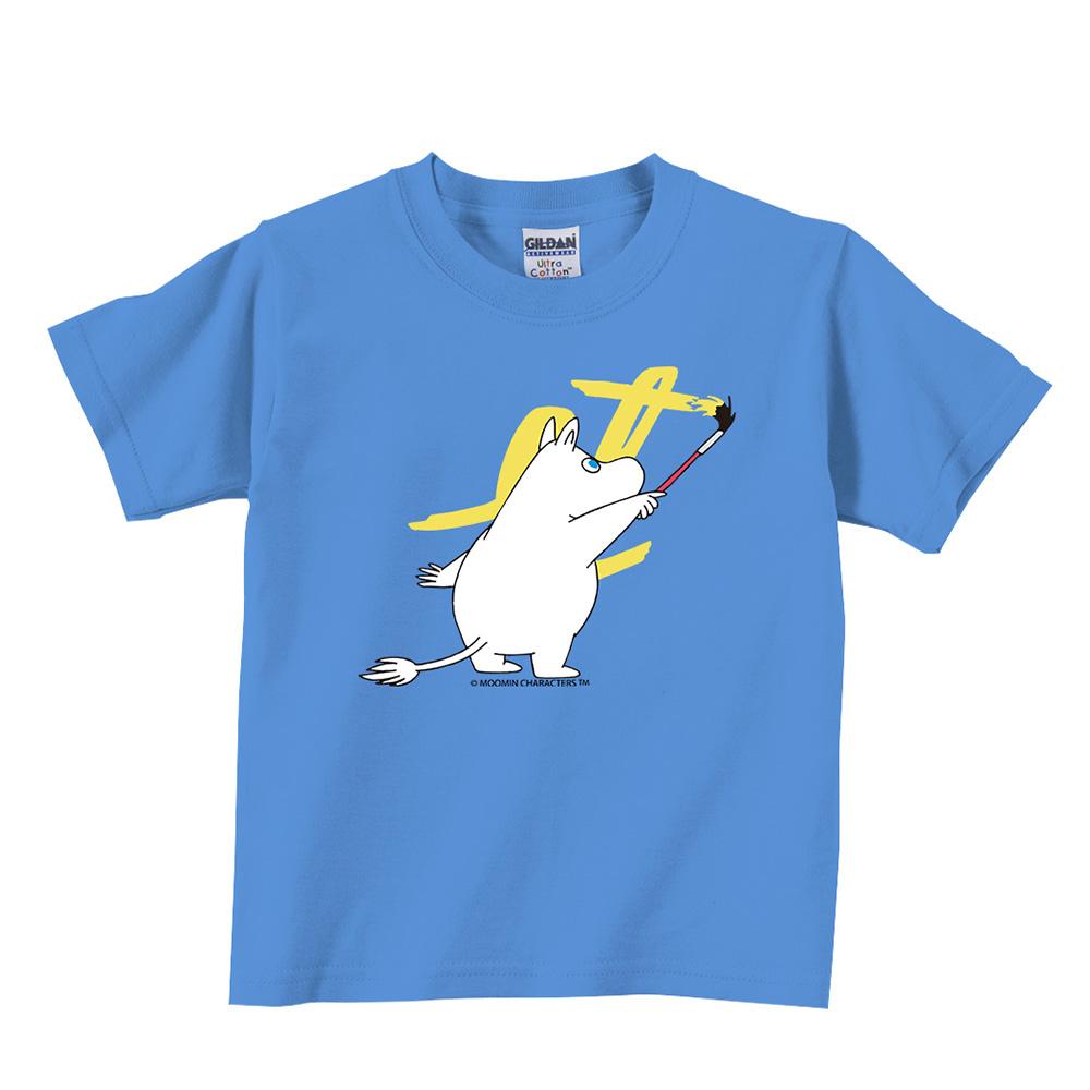 YOSHI850|Moomin嚕嚕米正版授權:T恤【塗鴉】兒童短袖 T-shirt