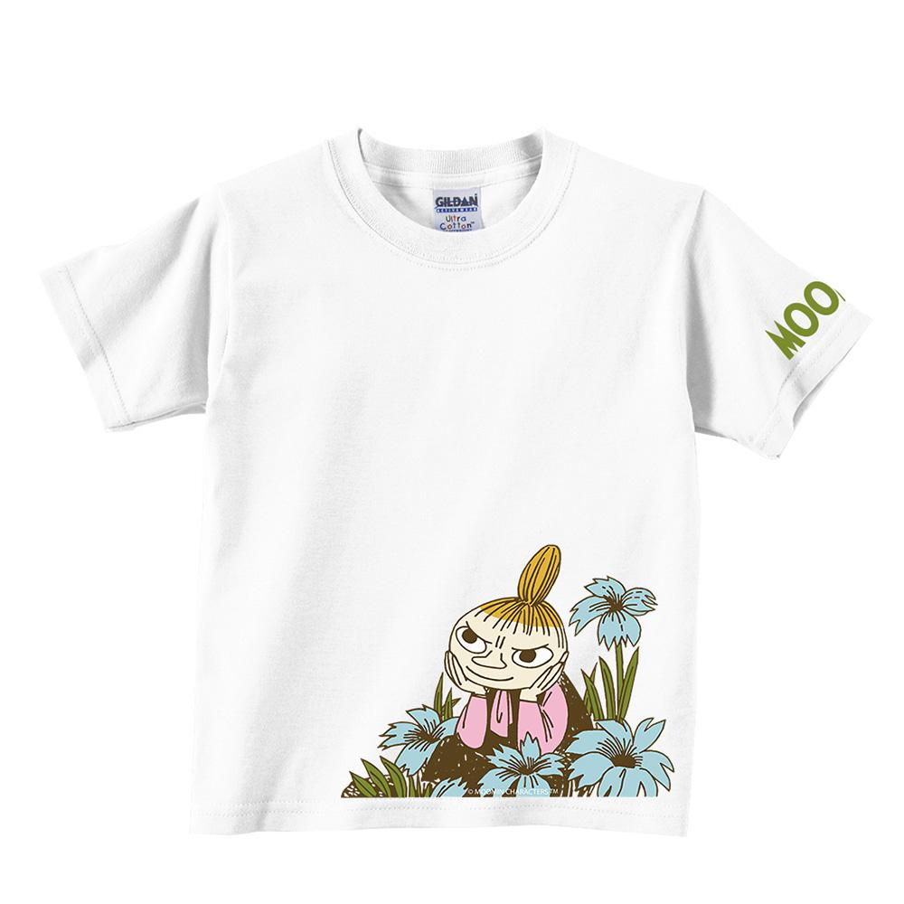 YOSHI850 Moomin嚕嚕米正版授權:T恤【期待】兒童短袖 T-shirt