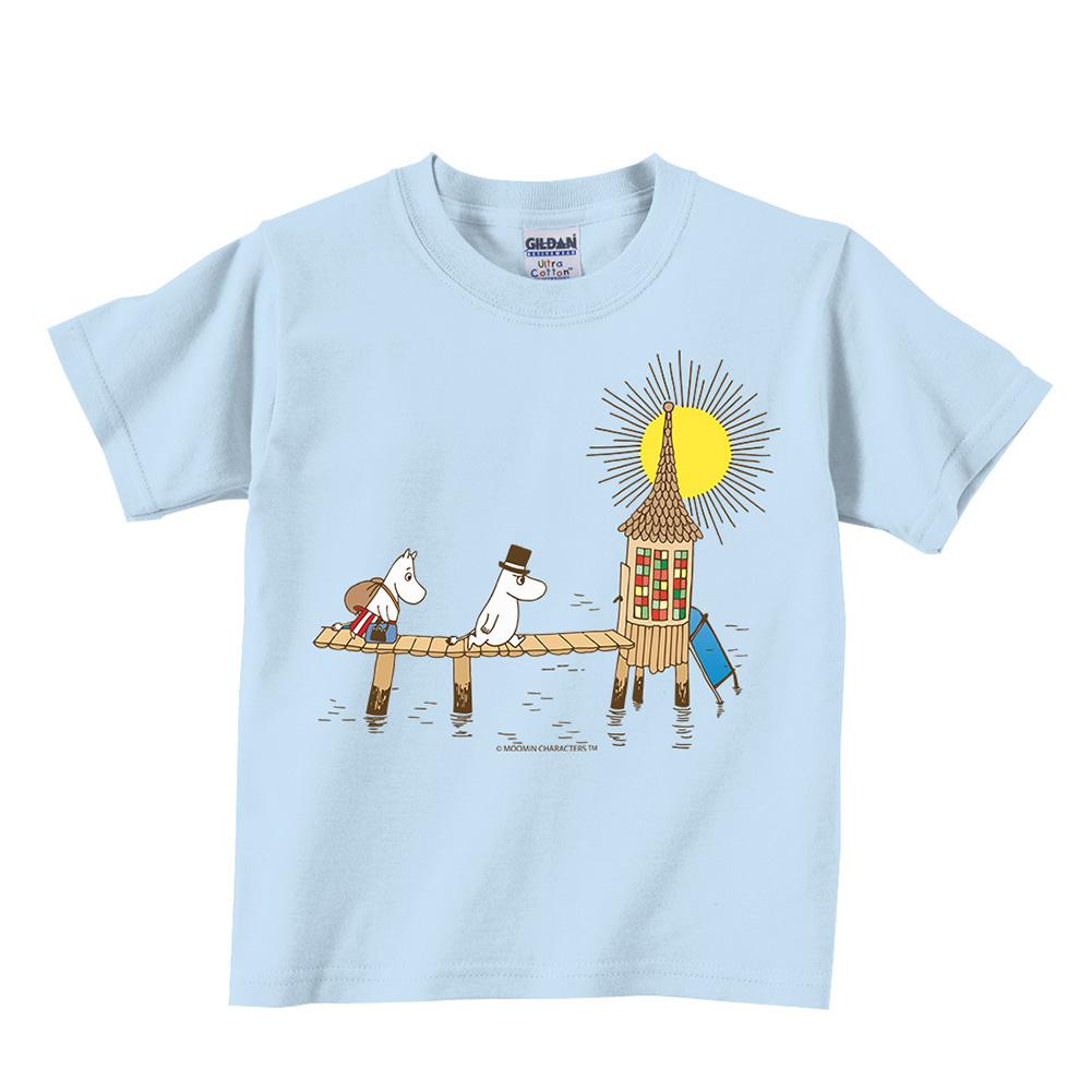 YOSHI850|Moomin嚕嚕米正版授權:T恤【黃昏】兒童短袖 T-shirt