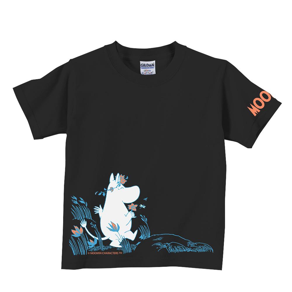 YOSHI850|Moomin嚕嚕米正版授權:T恤【獻上我的愛】兒童短袖 T-shirt