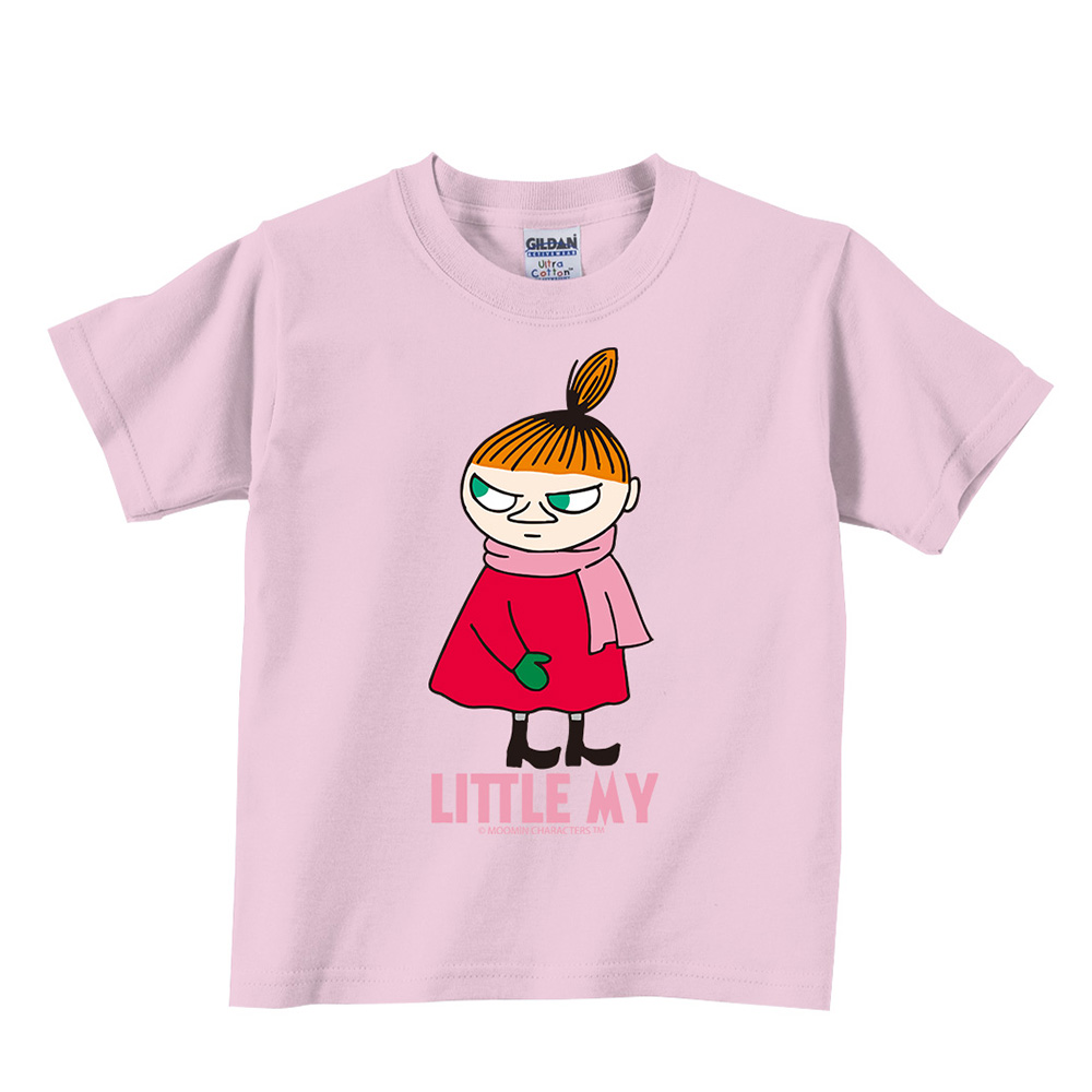 YOSHI850|Moomin嚕嚕米正版授權:T恤【等待寒冬】兒童短袖 T-shirt