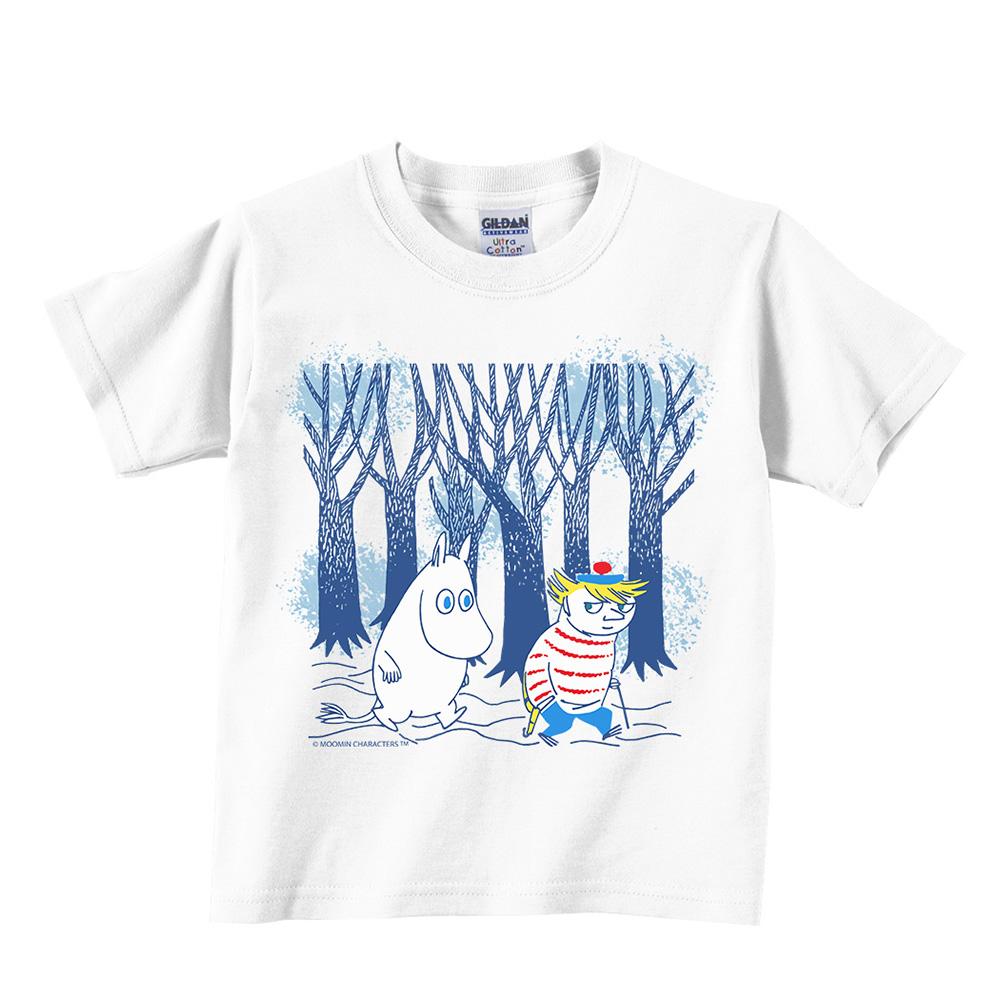 YOSHI850|Moomin嚕嚕米正版授權:T恤【嚕嚕米與迪琪】兒童短袖 T-shirt