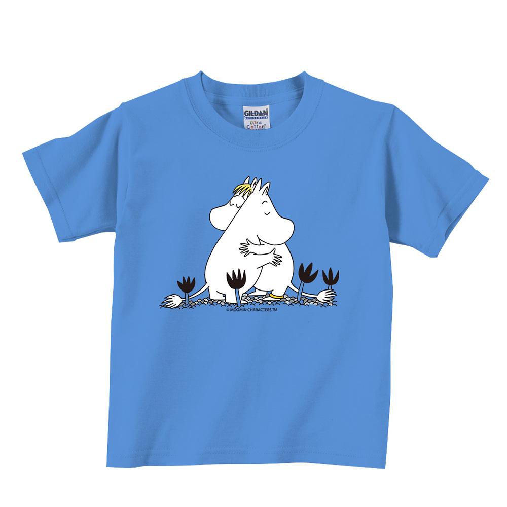 YOSHI850|Moomin嚕嚕米正版授權:T恤【有你在真好】兒童短袖 T-shirt