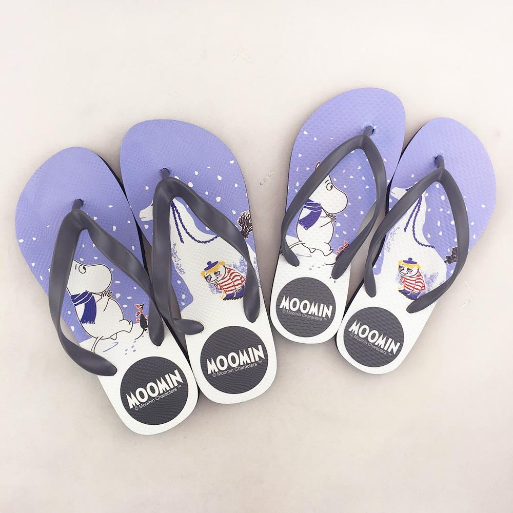 YOSHI850|Moomin嚕嚕米正版授權:夾腳拖鞋【04】女/男
