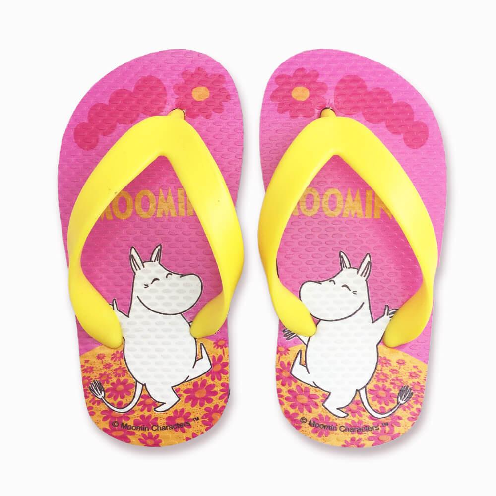 YOSHI850|Moomin嚕嚕米正版授權:夾腳拖鞋【07】 兒童