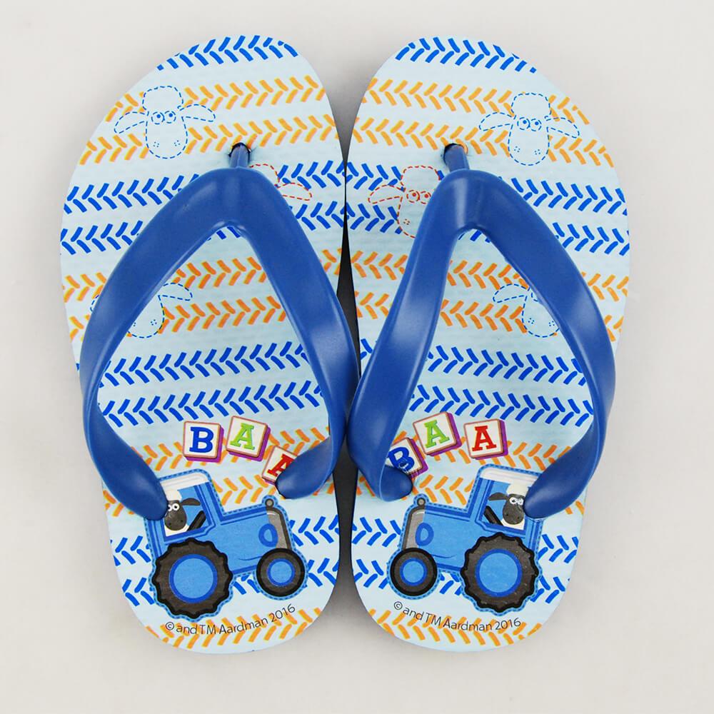 YOSHI850 笑笑羊正版授權:夾腳拖鞋【1】 兒童